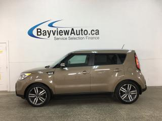 Used 2016 Kia Soul SX - ONLY 19,000KMS! PANOROOF! LTHR! NAV! ALLOYS! for sale in Belleville, ON