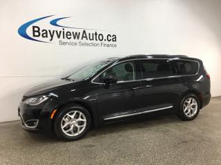 Used 2018 Chrysler Pacifica Touring-L Plus - HTD LEATHER! PANOROOF! ENTERTAINMENT SYSTEM! PWR DOORS! + MORE! for sale in Belleville, ON