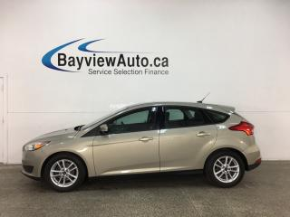 Used 2015 Ford Focus SE - AUTO! HATCH! ALLOYS! LOW KMS! for sale in Belleville, ON