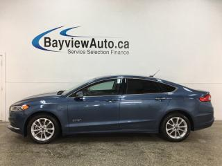 Used 2018 Ford Fusion Energi SE Luxury - PLUG IN HYBRID! HTD LEATHER! FULL PWR GROUP! for sale in Belleville, ON