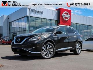 New 2019 Nissan Murano SL AWD  - Navigation -  Sunroof - $288 B/W for sale in Ottawa, ON