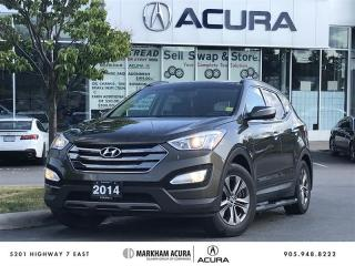Used 2014 Hyundai Santa Fe Sport 2.4L AWD Luxury Pano Roof, Blind Spot Info, Winter Tires for sale in Markham, ON