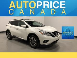Used 2016 Nissan Murano SV NAVIGATION|PANOROOF|REAR CA, for sale in Mississauga, ON