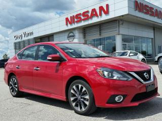 Used 2016 Nissan Sentra SR w/rear spoiler,alloys,rear cam,sxm radio for sale in Cambridge, ON