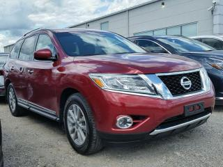 Used 2016 Nissan Pathfinder SL 4WD w/all leather,NAV,3rd row seating,climate control,rear cam,front-rear heated seats for sale in Cambridge, ON