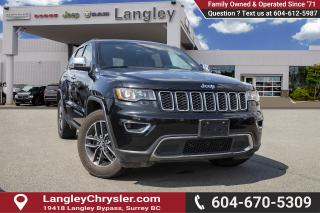 Used 2017 Jeep Grand Cherokee Limited - Leather Seats for sale in Surrey, BC