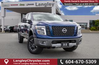 Used 2016 Nissan Titan XD PRO-4X Gas *PRO4X* *LEATHER* *NAVI* *TONNEAU COVER* for sale in Surrey, BC