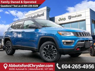 Used 2019 Jeep Compass Trailhawk - Sunroof - Leather Seats for sale in Abbotsford, BC