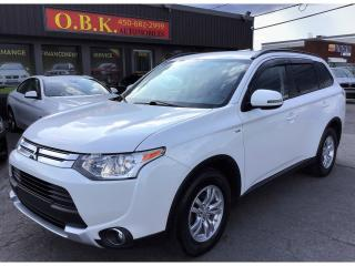 Used 2015 Mitsubishi Outlander 4WD-7 PASSAGERS-SE-BLUETOOTH-V6 for sale in Laval, QC