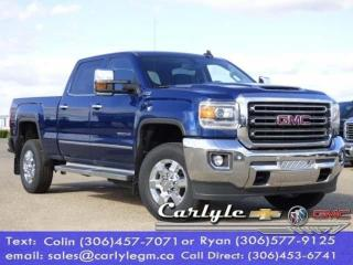 New 2019 GMC Sierra 2500 HD 5th. Whl. Pkg. Duramax for sale in Carlyle, SK