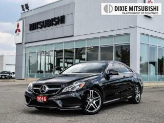 Used 2016 Mercedes-Benz E-Class E400 COUPE | INTELLIGENT DRIVE | AMG SPORT PKG for sale in Mississauga, ON