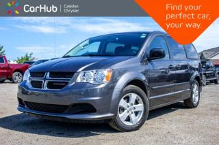 Used 2017 Dodge Grand Caravan Canada Value Package   Zone Climate Control Pwr Windows Pwr Locks Keyless Entry for sale in Bolton, ON