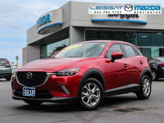 Used 2018 Mazda CX-3 GS- AUTOMATIC, BLUETOOTH, HEATED SEATS, ALLOY WHEELS for sale in Burlington, ON