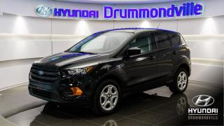 Used 2018 Ford Escape S + GARANTIE + CAMÉRA + BLUETOOTH + A/C for sale in Drummondville, QC