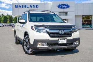 Used 2017 Honda Ridgeline Touring ONE OWNER, ACCIDENT FREE, BC LOCAL for sale in Surrey, BC