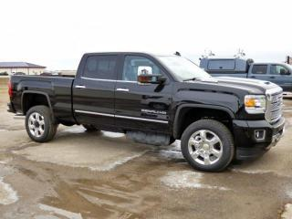 New 2019 GMC Sierra 2500 HD Duramax, Crew, Sunroof for sale in Carlyle, SK