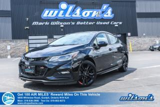Used 2018 Chevrolet Cruze LT RS Redline Edition - Sunroof, Rear Camera, Bluetooth, Bose Speakers, Heated Seats, & much more! for sale in Guelph, ON