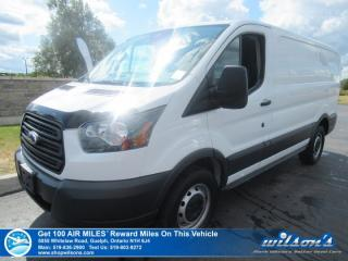 Used 2016 Ford Transit Cargo Van Low Roof, Rear Camera, Air Conditioning, Cruise Control, Racks, Power Group and more! for sale in Guelph, ON
