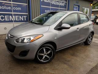 Used 2012 Mazda MAZDA2 Gx + a/c + gr. elec for sale in Boisbriand, QC
