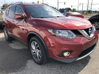 Used 2015 Nissan Rogue AWD SL Loaded! NAV, Panoramic Roof, Leather, Heated Seats, BackupCam with Front and side Camera, All for sale in Kemptville, ON