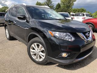 Used 2015 Nissan Rogue SV AWD with Pano Roof and Heated Seats with BackupCam, Pwr Seat, Alloys, Fog Lights and More! for sale in Kemptville, ON