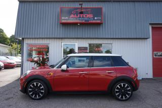 Used 2015 MINI Cooper HARDTOP 5 PORTES AUTOMATIQUE TOIT PANO BLUETOOTH for sale in Lévis, QC