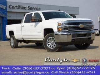 Used 2018 Chevrolet Silverado 3500HD Crew Long-Box SRW for sale in Carlyle, SK