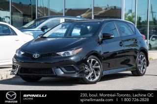 Used 2018 Toyota Corolla iM HATCHBACK MAG 17'', BLUETOOTH, CAMERA for sale in Lachine, QC
