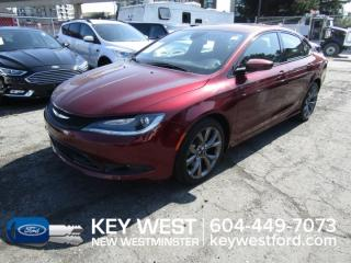 Used 2015 Chrysler 200 S Sunroof Cam for sale in New Westminster, BC