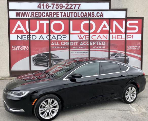 2015 Chrysler 200 Limited LIMITED-0% DOWN ALL CREDIT ACCEPTED
