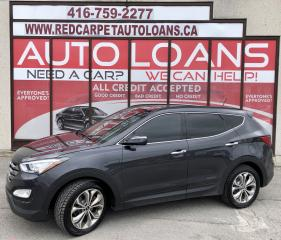 Used 2015 Hyundai Santa Fe Sport 2.0T Limited LIMITED-0% DOWN ALL CREDIT ACCEPTED for sale in Scarborough, ON