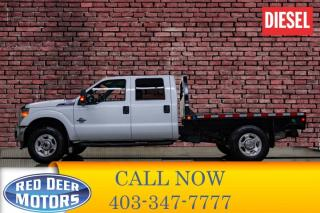 Used 2015 Ford F-350 4x4 Crew Cab XLT Deck Diesel for sale in Red Deer, AB