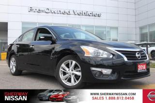 Used 2014 Nissan Altima One owner trade. Clean carfax and nissan certified preowned. Only 27000 kms for sale in Toronto, ON