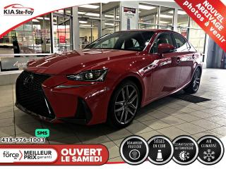 Used 2018 Lexus IS 350 F-SPORT 3 *CUIR *CAMERA *TOIT *MAGS for sale in Québec, QC