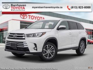 New 2019 Toyota Highlander XLE AWD  - Navigation -  Sunroof - $296 B/W for sale in Ottawa, ON