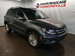 Used 2016 Volkswagen Tiguan Special Edition for sale in Drummondville, QC
