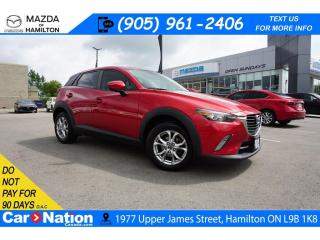 Used 2016 Mazda CX-3 GS | LEATHER | NAV | SUNROOF | REAR CAM for sale in Hamilton, ON