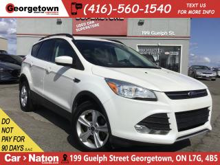 Used 2014 Ford Escape SE | BIG SCREEN | 2.0L | POWER SEAT | HTD SEATS for sale in Georgetown, ON