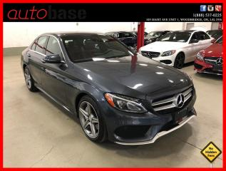 Used 2016 Mercedes-Benz C-Class C300 4MATIC BURMESTER PREMIUM PLUS SPORT RED INT! for sale in Vaughan, ON
