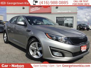 Used 2014 Kia Optima LX | 1 OWNER | LOW LOW KM'S | for sale in Georgetown, ON