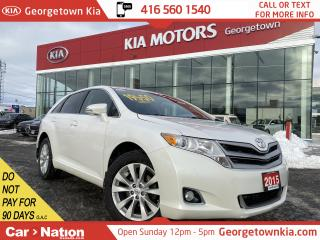 Used 2015 Toyota Venza AWD | 2.7L | TINTS | BU CAM | HD RADIO | BLUETOOTH for sale in Georgetown, ON