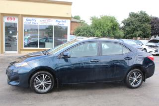 Used 2018 Toyota Corolla LE SUNROOF ALLOY WHEELS for sale in Brampton, ON