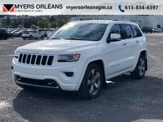 Used 2015 Jeep Grand Cherokee OVERLAND  OVERLAND DIESEL! for sale in Orleans, ON