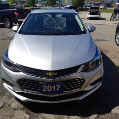 Used 2017 Chevrolet Cruze LT for sale in Orillia, ON