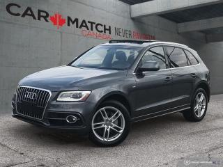Used 2013 Audi Q5 2.0L Premium / S-LINE / NAV / ROOF / NO ACCIDENTS for sale in Cambridge, ON