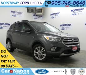Used 2017 Ford Escape SE | AWD | HTD SEATS | BACKUP CAM | SAT RADIO | for sale in Brantford, ON