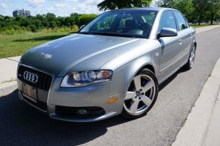 Used 2007 Audi A4 3.2L / S-LINE / QUATTRO / LOCAL ONTARIO CAR for sale in Etobicoke, ON