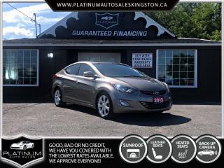 Used 2013 Hyundai Elantra Limited for sale in Kingston, ON