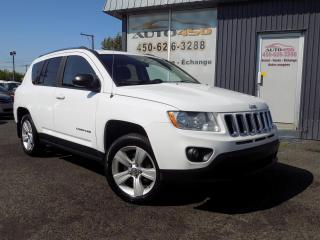 Used 2011 Jeep Compass ***SPORT,BAS KILOMETRAGE,AUTOMATIQUE,A/C for sale in Longueuil, QC