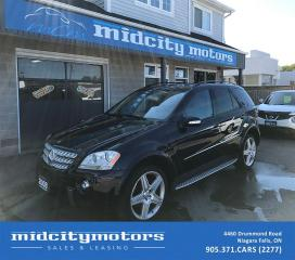 Used 2008 Mercedes-Benz M-Class 5.5L/4matic/Fully loaded/AMG Package/Low KM for sale in Niagara Falls, ON